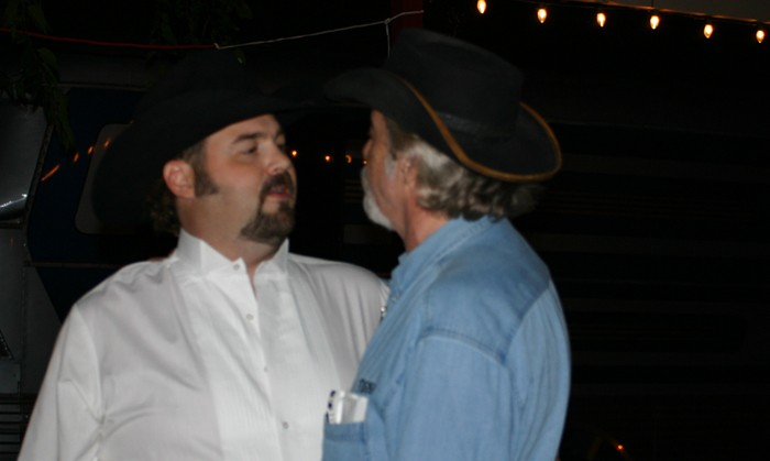 Davin James & Rusty Wier